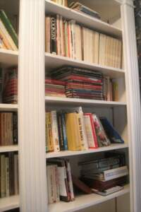 If you no longer have room for shelves full of books, why not donate them so that someone else might have the opportunity to read them