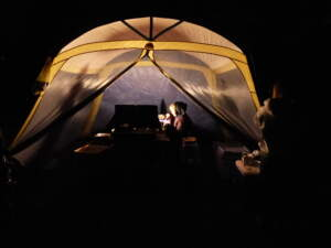Nothing beats a night spent under the stars, especially when your waste footprint is reduced