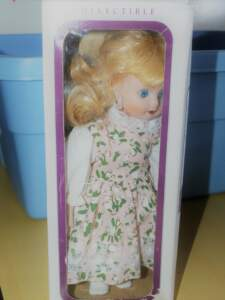 If the doll your daughter received is more creepy than cute, don't give the girl nightmares by keeping it in her collection. Get rid of it!